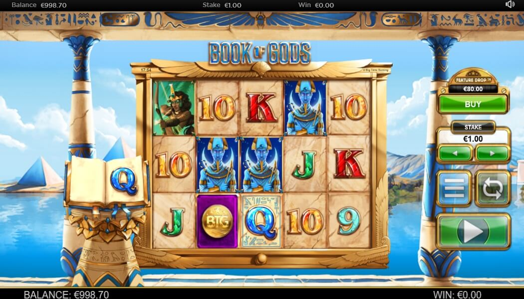 Slot Take a Leap of Faith With Book of Gods